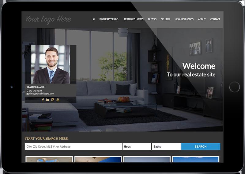 Websites for Realtors iPad